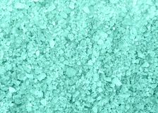 SPA μπλε σύσταση υποβάθρου κρυστάλλων λουτρών αλατισμένη Στοκ Εικόνες