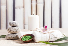 SPA, περισυλλογή, aromatherapy Στοκ εικόνα με δικαίωμα ελεύθερης χρήσης