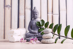 SPA, περισυλλογή, aromatherapy Στοκ φωτογραφία με δικαίωμα ελεύθερης χρήσης