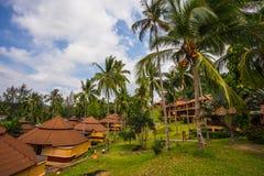 &Spa курорта рая Chang Koh романтичные, мирные sanctuar Стоковые Изображения
