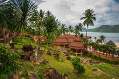 &Spa курорта рая Chang Koh романтичные, мирные sanctuar Стоковые Фотографии RF