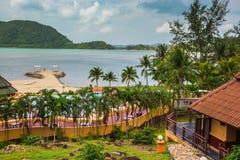 &Spa курорта рая Chang Koh романтичные, мирные sanctuar Стоковая Фотография