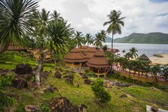 &Spa курорта рая Chang Koh романтичные, мирные sanctuar Стоковая Фотография RF