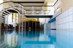Ευρωπαϊκή εσωτερική SPA πισίνα πολυτέλειας Στοκ φωτογραφία με δικαίωμα ελεύθερης χρήσης