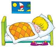 spać Obrazy Royalty Free