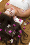 Spa. Facial and body care (spa treatment Royalty Free Stock Photo