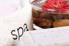 spa Fotografia Stock