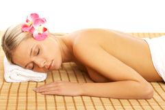 Daily Spa Royalty Free Stock Photos