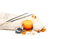 Spa accessories Stock Image