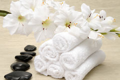 Spa accessories Stock Photos