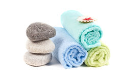 Spa accessories Royalty Free Stock Photo