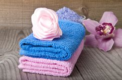 Spa Accessories Stock Images