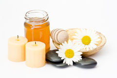 Spa accessories Stock Photography