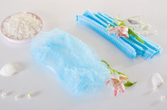 Spa accessories - disposable shower cap Stock Photography