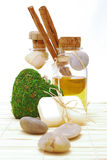 SPA accessories for wellness or relaxing Stock Photo