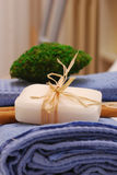 SPA accessories for wellness or relaxing Royalty Free Stock Photos