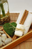 SPA accessories for wellness or relaxing Stock Photos