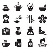 Spa & alternative therapy icons set 2 Stock Images