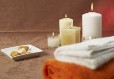 Spa ambient Royalty Free Stock Photos