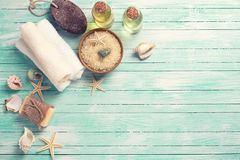 Free Spa And Wellness Setting Royalty Free Stock Photos - 54448478