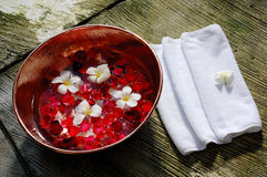 SPA appliance. Bali SPA appliance (for foot Royalty Free Stock Photo