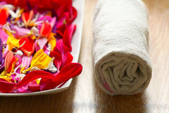 Spa aroma background Royalty Free Stock Images