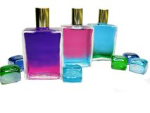 Spa aroma oils cosmetics Royalty Free Stock Photos