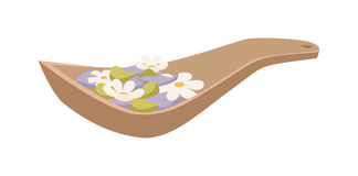 Spa aroma vector icons. Stock Images