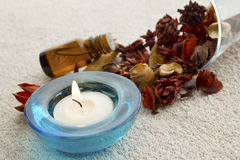 Spa aromatheraphy Royalty Free Stock Images