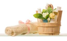 SPA aromatherapy και skincare έννοια Στοκ φωτογραφία με δικαίωμα ελεύθερης χρήσης
