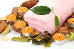 SPA, aromatherapy, μασάζ Στοκ εικόνα με δικαίωμα ελεύθερης χρήσης