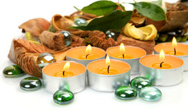 SPA, aromatherapy, μασάζ Στοκ φωτογραφία με δικαίωμα ελεύθερης χρήσης