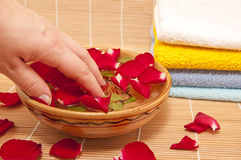 Spa aromatherapy Stock Images