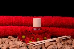 Spa and aromatherapy Stock Photo