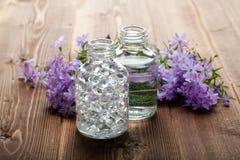Spa and aromatherapy- essential oils Stock Photos