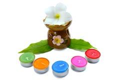 Spa aromatherapy. Health and spa aromatherapy Stock Image