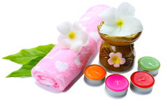 Spa aromatherapy. Health and spa aromatherapy Stock Images