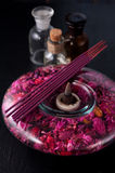 Spa and aromatherapy Stock Image