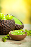 Spa - aromatherapy minerals Stock Images