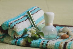 Spa and Aromatherapy. Perfume for Spa and Aromatherapy Stock Image