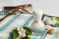 Spa and Aromatherapy. Perfume for Spa and Aromatherapy Stock Images