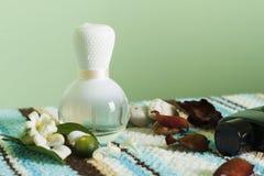 Spa and Aromatherapy. Perfume for Spa and Aromatherapy Stock Photos
