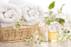 Spa and aromatherapy set Stock Photo