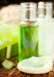 Spa and aromatherapy set Royalty Free Stock Photos