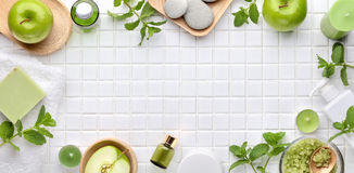 Spa and aromatherapy set Stock Images