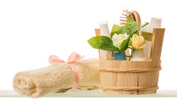 Spa aromatherapy and skincare concept Royalty Free Stock Photography