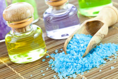 SPA Aromatic Oil. Royalty Free Stock Image