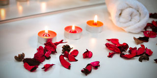 Spa atmosphere Royalty Free Stock Photos