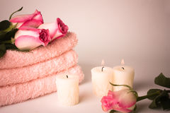Spa atmosphere Royalty Free Stock Image