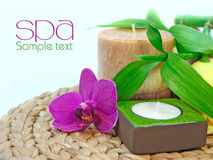 Spa background Royalty Free Stock Photos